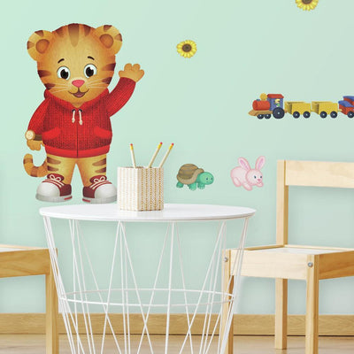Daniel Tiger Peel and Stick Giant Wall Decals roomset