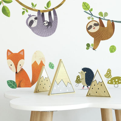 Forest Friends Wall Decals roomset