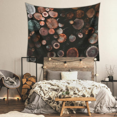 Log Large Tapestry roomset