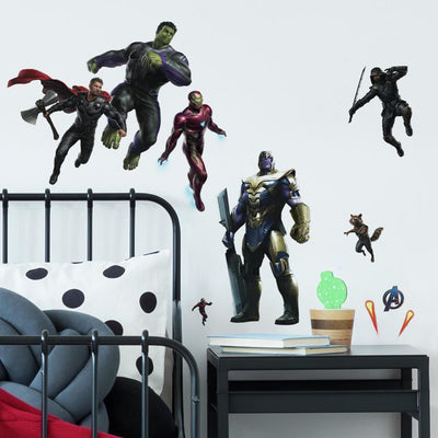 Marvel's Avengers Endgame Peel and Stick Wall Decals roomset