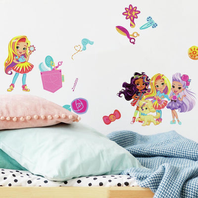 Sunny Day Peel and Stick Wall Decals roomset