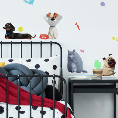 Secret Life of Pets 2 Peel and Stick Wall Decals roomset