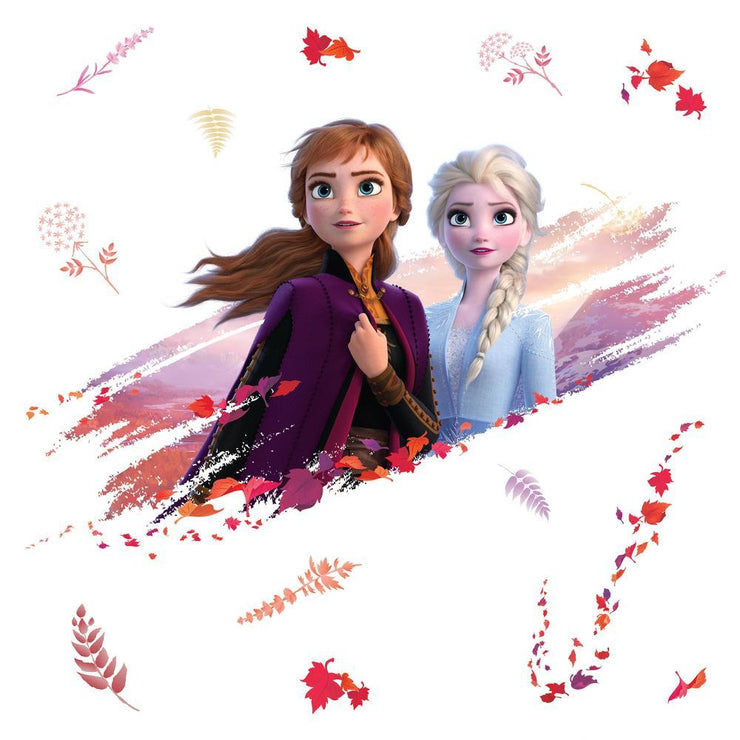 Disney Frozen 2 Anna and Elsa Giant Wall Decals