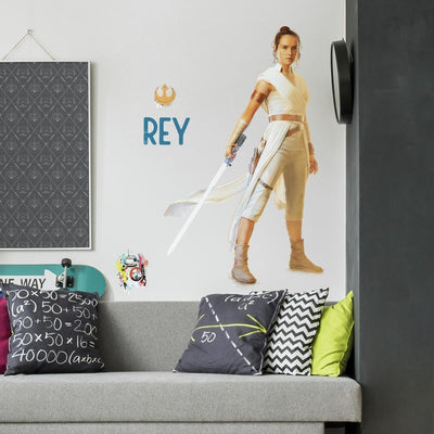 Star Wars: The Rise of Skywalker Rey Giant Wall Decal roomset