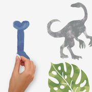 Watercolor Dinosaur Peel and Stick Wall Decals peel