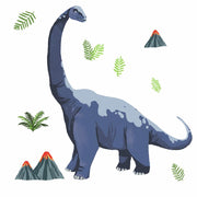 Brachiosaurus Dino Peel and Stick Giant Wall Decals
