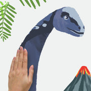 Brachiosaurus Dino Peel and Stick Giant Wall Decals apply