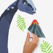 Brachiosaurus Dino Peel and Stick Giant Wall Decals peel