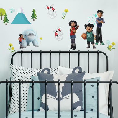 Abominable Wall Decals roomset