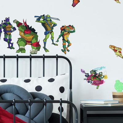 Rise of TMNT Wall Decals roomset