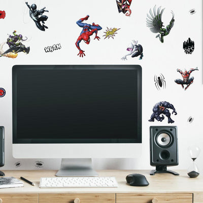 Spider-Man Favorite Characters Wall Decals roomset