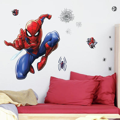 Spider-Man Giant Wall Decals roomset