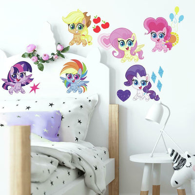 My Little Pony Let's Get Magical Wall Decals roomset