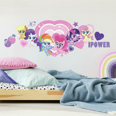 My Little Pony Let's Get Magical Giant Wall Decals roomset