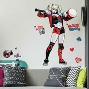 Harley Quinn Peel and Stick Giant Wall Decals roomset 2