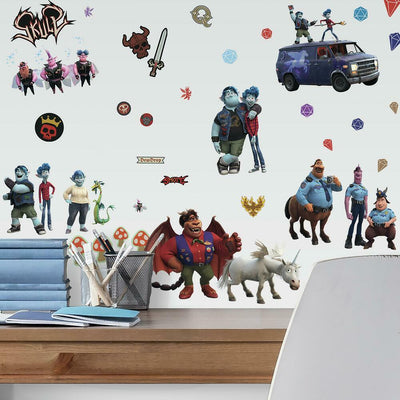 Onward Peel and Stick Wall Decals roomset