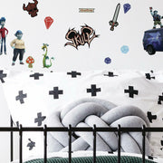 Onward Peel and Stick Wall Decals roomset 2
