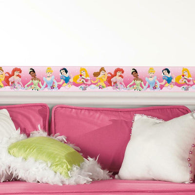 Disney Princess Dream From the Heart Peel and Stick Border roomset
