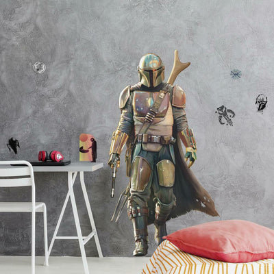 The Mandalorian Peel and Stick Giant Wall Decals roomset 2