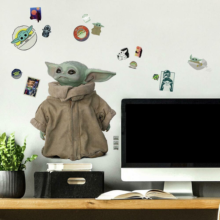 The Mandalorian: The Child Peel and Stick Wall Decals roomset 2