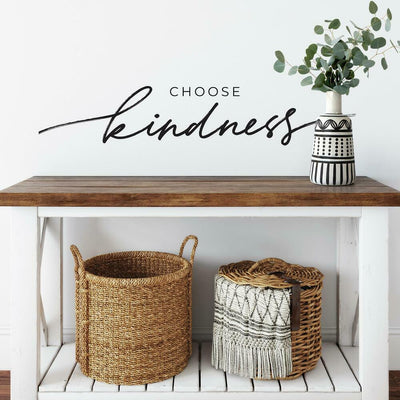 Choose Kindness Peel and Stick Wall Decals roomset