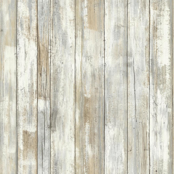 RMK9050WP Distressed Wood Wallpaper