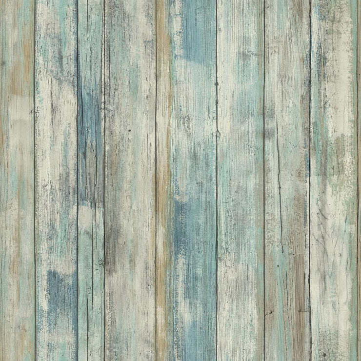 RMK9052WP Distressed Wood Wallpaper