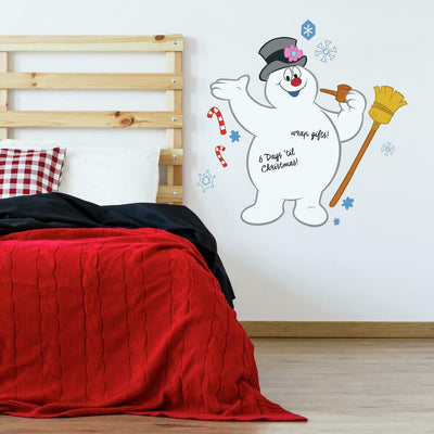 Dry Erase Frosty Peel and Stick Giant Wall Decals roomset