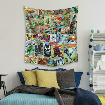 Marvel Comic Tapestry roomset