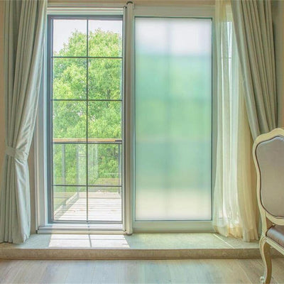 Frosted Privacy Window Film roomset 1