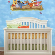Pooh and Friends Outdoor Fun Giant Wall Decals roomset 2