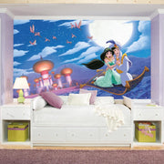 "Aladdin ""A Whole New World"" XL Wallpaper Mural 10.5' X 6' roomset 2"
