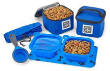 Load image into Gallery viewer, Dog gear and accessories. Dog food and accessories bowl pack