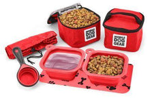 Load image into Gallery viewer, Dog gear and accessories. Dog food and treats dine away bag..