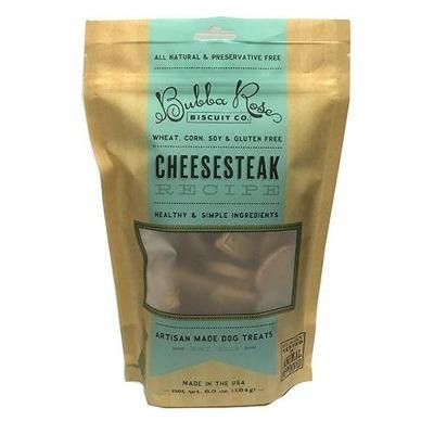 Dog treats. Cheesesteak flavor