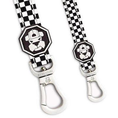 Checkerboard style leash for dogs, available through allgoodpetsupplies.com