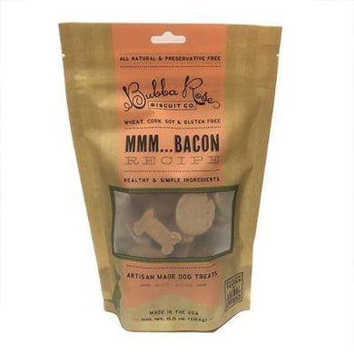 Dog treats. Bacon flavor