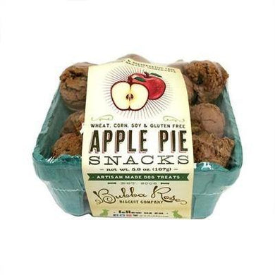Dog treats. Apple pie treats.