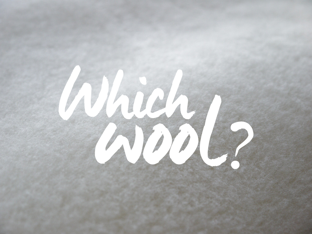 which wool should you choose?
