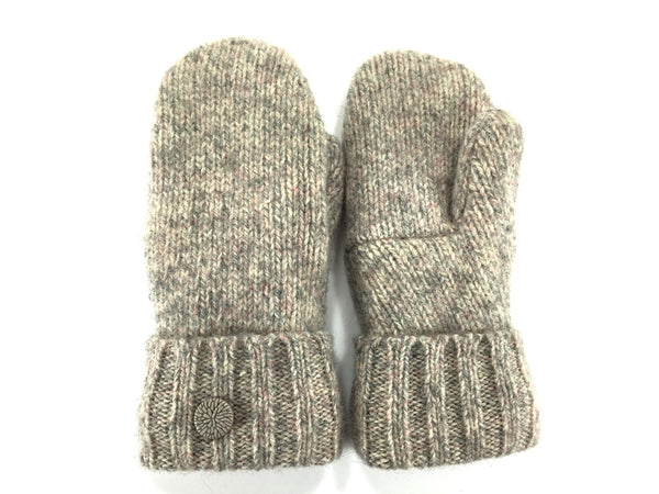 Women's Wool Mittens, Handmade From Recycled Wool Sweaters in the ...