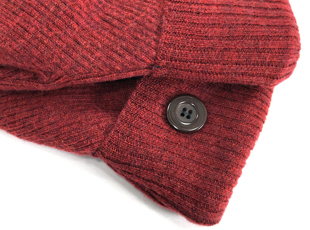 Rust Merino Wool Mittens - Medium - 1634-Womens-The Mitten Company