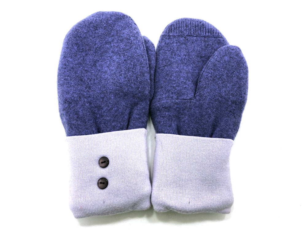 Blue Cashmere Wool Mittens - Medium - 1697 - The Mitten Company