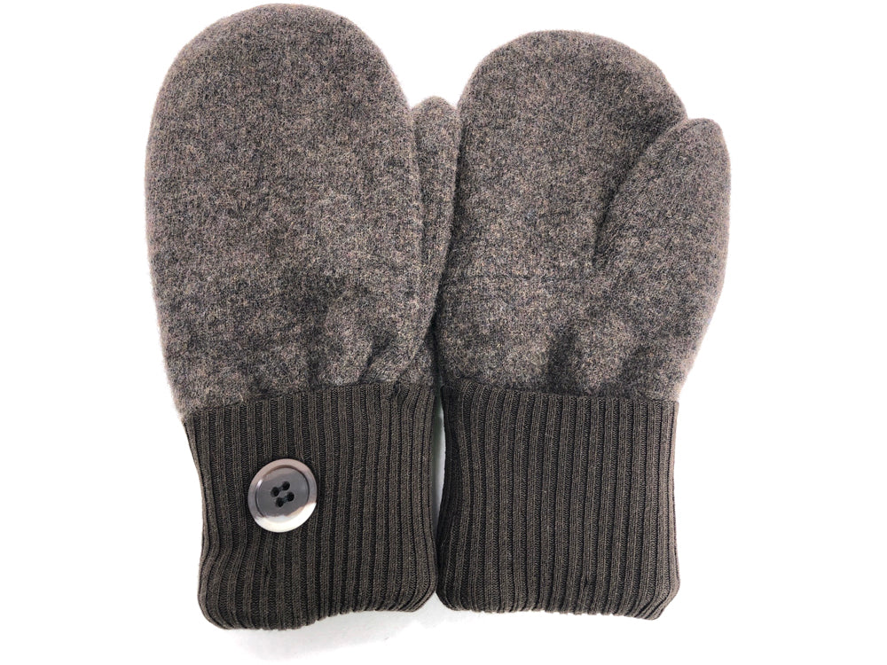 Brown Cashmere Wool Mittens - Medium - 1698-Womens-The Mitten Company