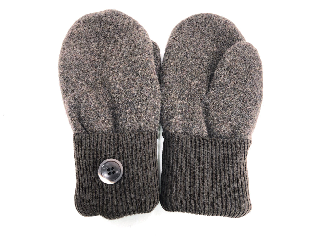 Brown Cashmere Wool Mittens - Medium - 1699 - The Mitten Company