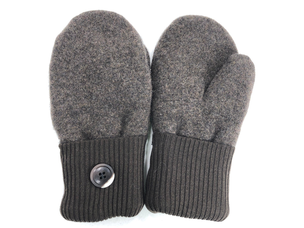 Brown Cashmere Wool Mittens - Medium - 1707-Womens-The Mitten Company