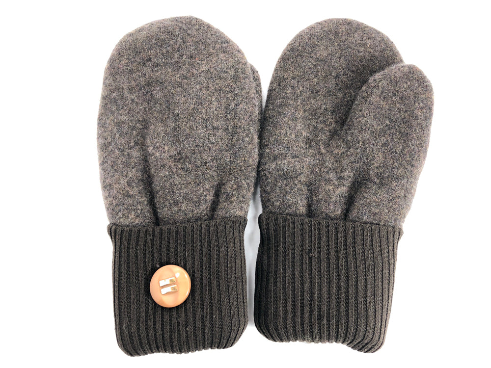 Brown Cashmere Wool Mittens - Medium - 1741 - The Mitten Company