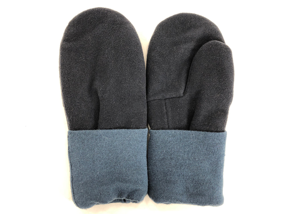 Blue Men's Wool Mittens - Large - 1769-Mens-The Mitten Company