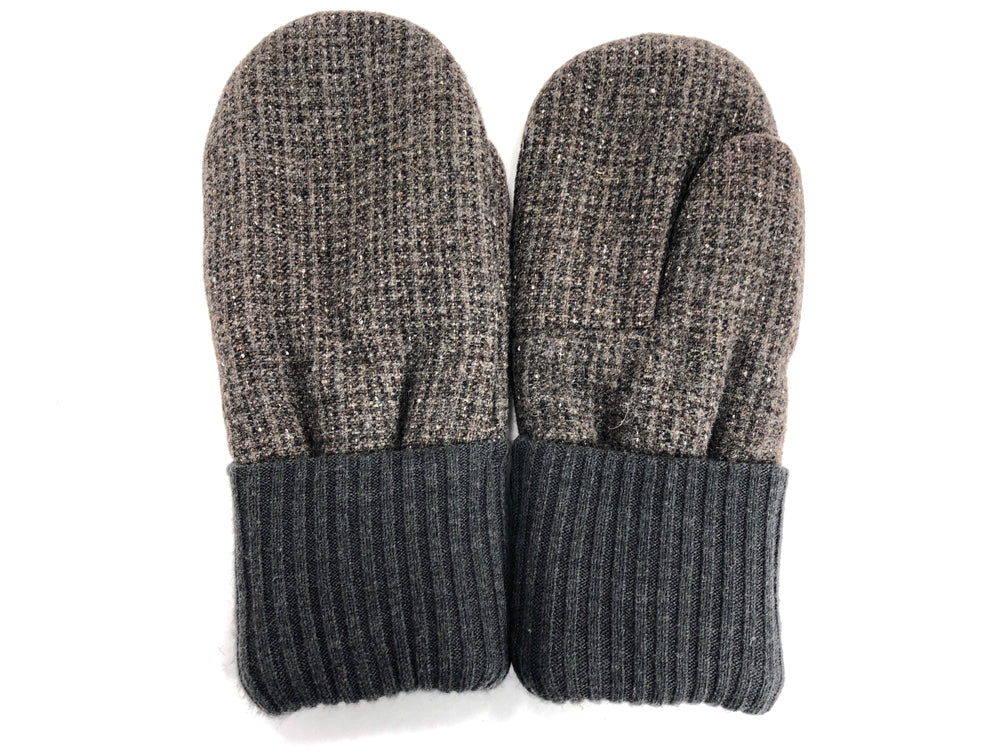 Brown Men's Wool Mittens - Large - 1771 - The Mitten Company