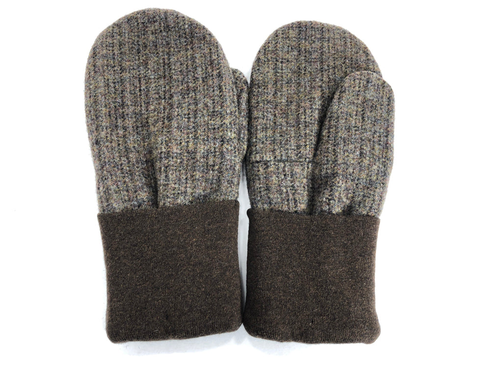 Brown Men's Wool Mittens - Large - 1786 - The Mitten Company