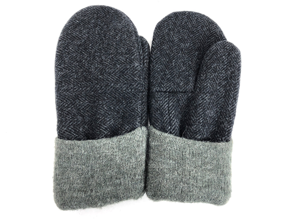 Gray Men's Wool Mittens - Large - 1788-Mens-The Mitten Company